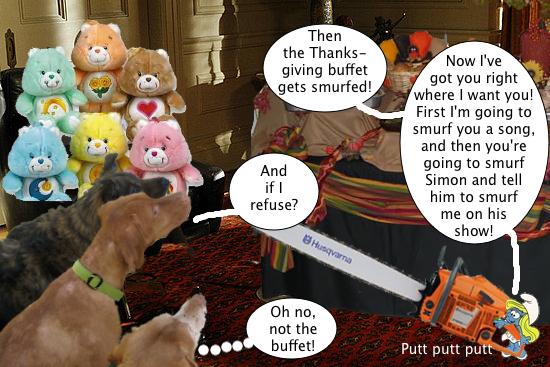 smurfette_threatens_buffet